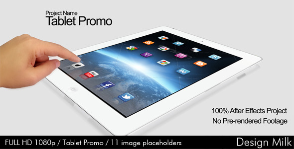 VideoHive Tablet Promo 2732155