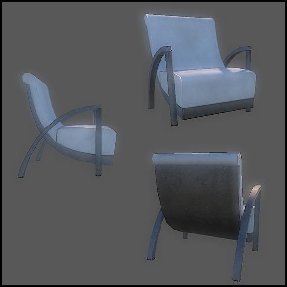 3DOcean Generic Designer Chair 2755363