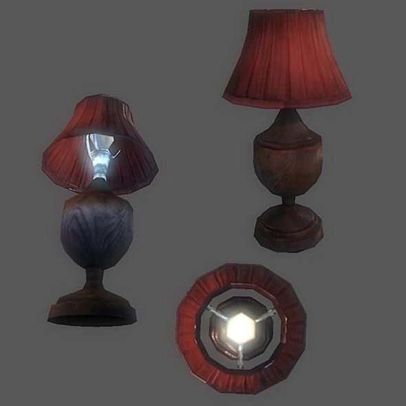 3DOcean Generic Table lamp 2755720