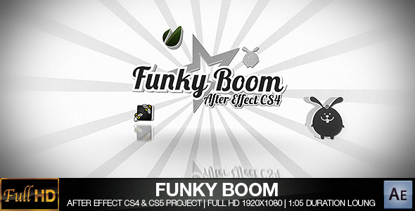 After Effects Project - VideoHive Funky Boom 300817