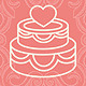 Download Vector Design elements with wedding and love icons
