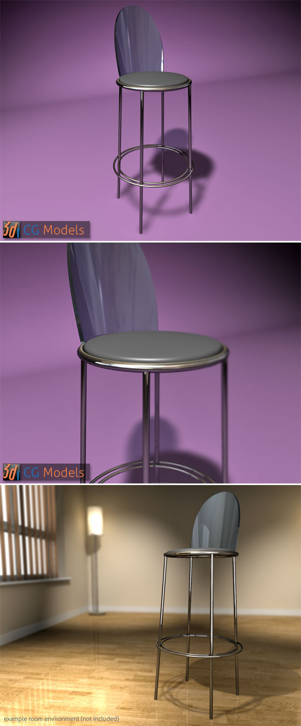 Contemporary Stool 06