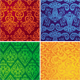 Set of vector vintage seamless patterns - GraphicRiver Item for Sale