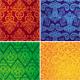 Set of vector vintage seamless patterns - GraphicRiver Item for Sale