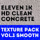 Clean Concrete Texture Pack Vol.1 Smooth - GraphicRiver Item for Sale