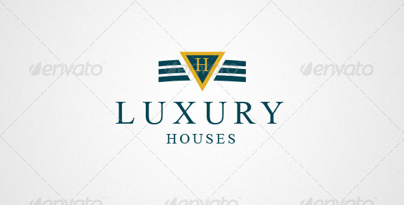 Real Estate & House Logo 0178 - Vector Abstract