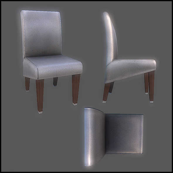 Classic Dining Chair - 3DOcean Item for Sale