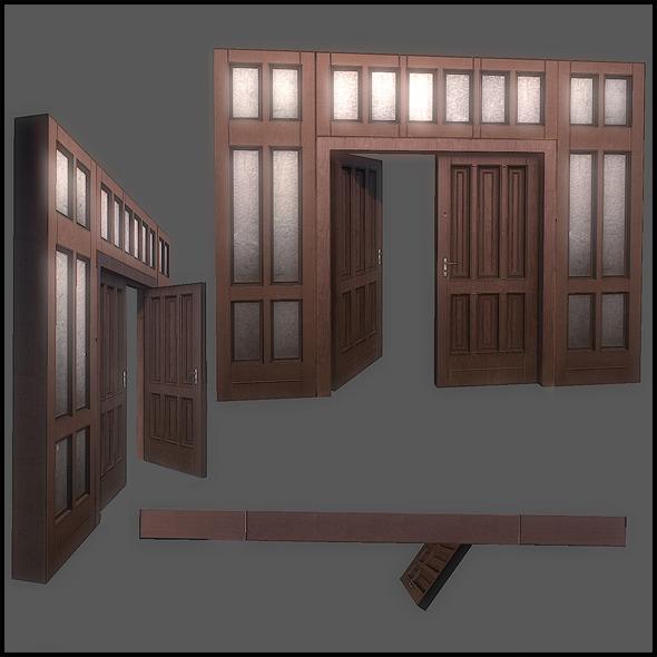 3DOcean Classic Door Set 2759796