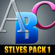Styles Pack 1 - GraphicRiver Item for Sale