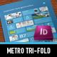 Metro Tri-fold Flyer - GraphicRiver Item for Sale