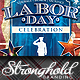 Vintage Labor Day Flyer Template - GraphicRiver Item for Sale