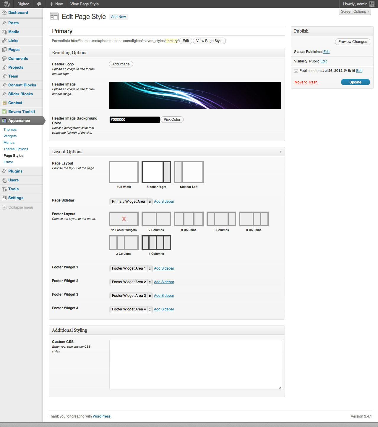 DigiTec WordPress Theme