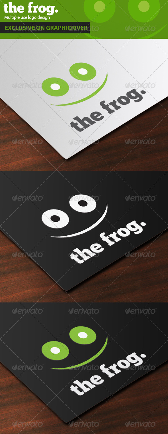 The Frog Logo Design - Animals Logo Templates