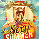 Sexy Summer Party Flyer Template - GraphicRiver Item for Sale
