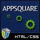 AppSquare - সফটওয়্যার এবং হোস্টিং এইচটিএমএল টেমপ্লেট - সফটওয়্যার প্রযুক্তি