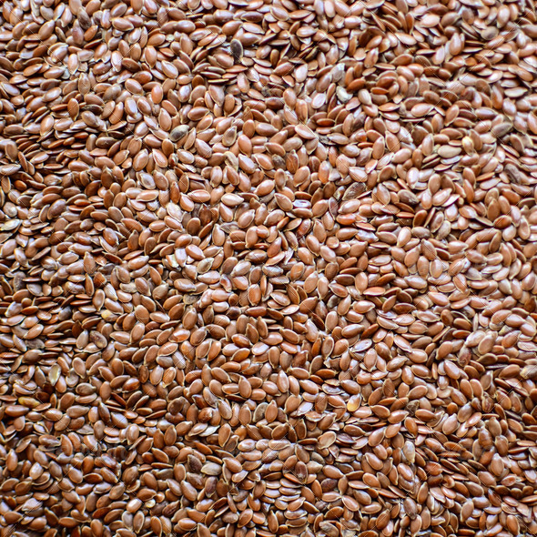 Flax seed background - Stock Photo - Images