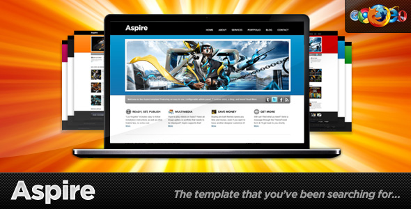Aspire - 7 in 1 Business and Portfolio Site