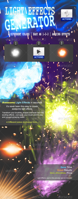 Light Effects Maker - Utilities Actions