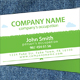 Green Leaves Organic Food Store Business Card - GraphicRiver Item for Sale