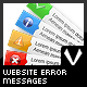 Ok, info, alert and error messages - GraphicRiver Item for Sale