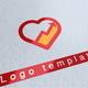 Rising Love Logo Template