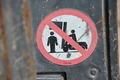 Forklift Sign - PhotoDune Item for Sale