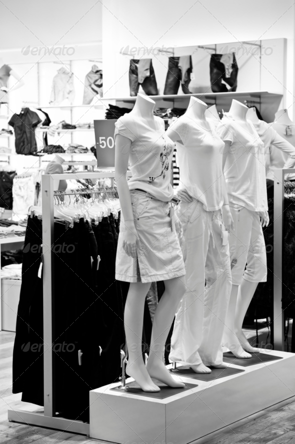 Clothing Store - Stock Photo - Images