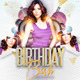B-Day Bash Party - Flyer Template - GraphicRiver Item for Sale