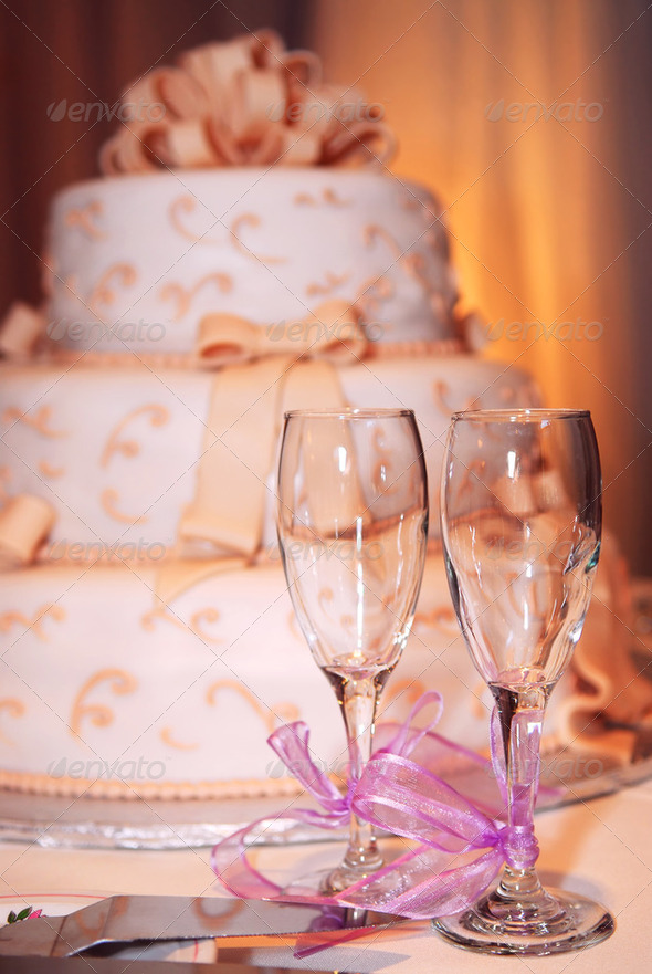 Wedding Cake - Stock Photo - Images