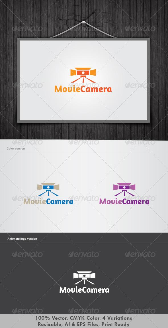 GraphicRiver Movie Camera Logo 2767522