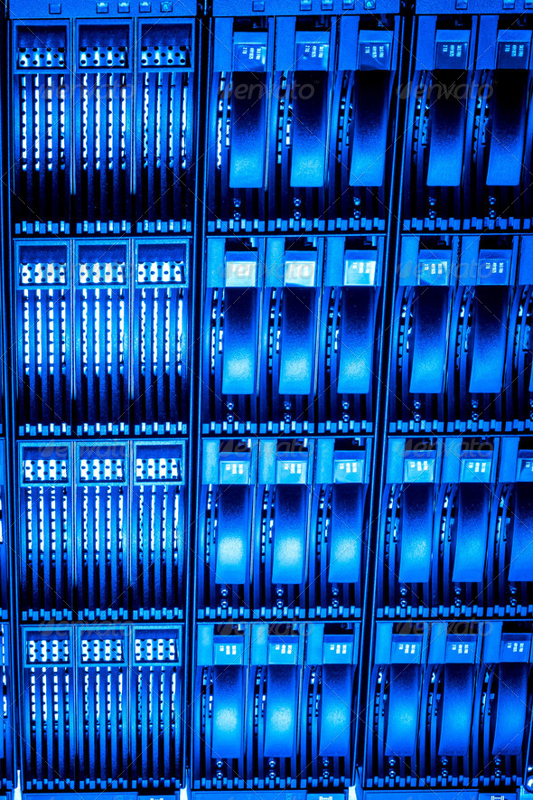 Data center - Stock Photo - Images