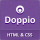 Doppio - Magazine HTML Template - ThemeForest Item for Sale