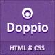 Doppio - Magazine HTML Template - Creative modèles de site