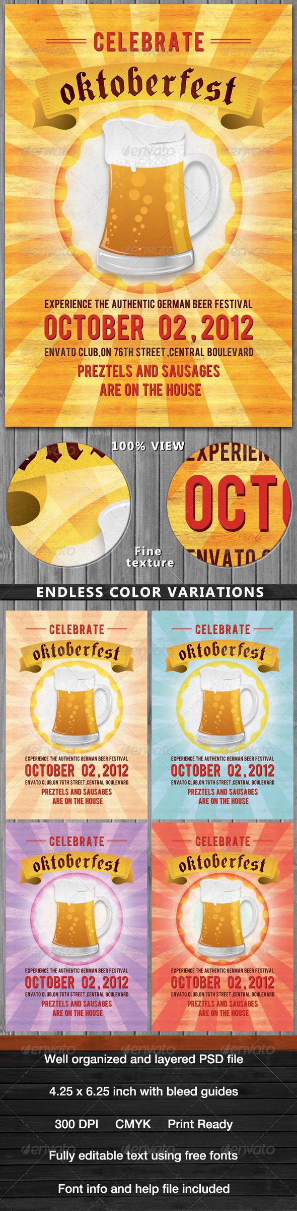 GraphicRiver Oktoberfest Flyer 2761350