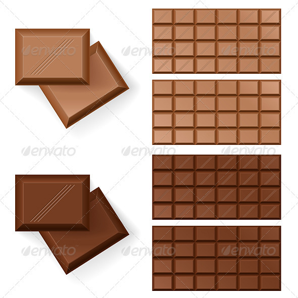 GraphicRiver Chocolate bars 2768962