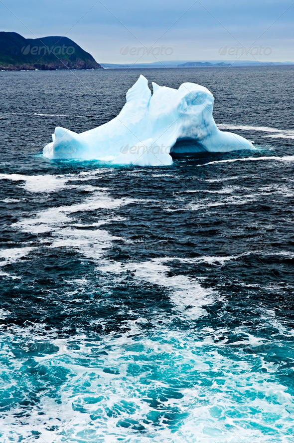 Melting Iceberg - Stock Photo - Images