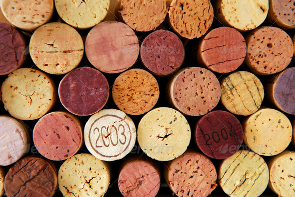 Wine Corks - Stock Photo - Images