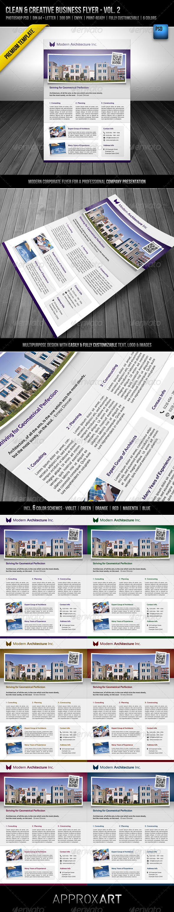 GraphicRiver Clean & Creative Business Flyer Vol 2 2771304