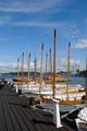 Traditional sloops in Karlskrona marina - PhotoDune Item for Sale