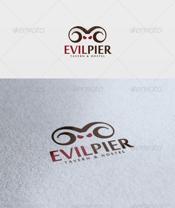 Evil Pier Logo - Vector Abstract