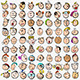 Cartoon People Faces - GraphicRiver Item for Sale