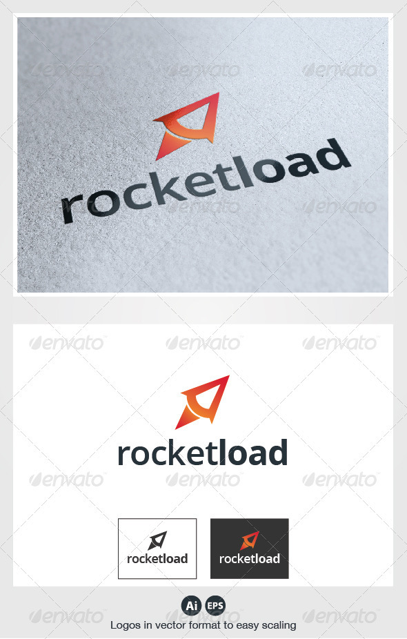 Rocket Load Logo - Objects Logo Templates