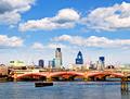 Blackfriars Bridge With London Skyline