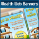 Wealth Web Marketing Set - GraphicRiver Item for Sale