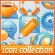 Rainbow Web Icons Collection - GraphicRiver Item for Sale