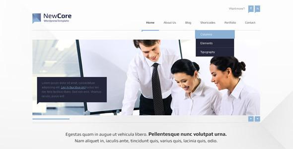 Site Template NewCore - Portfolio Creative