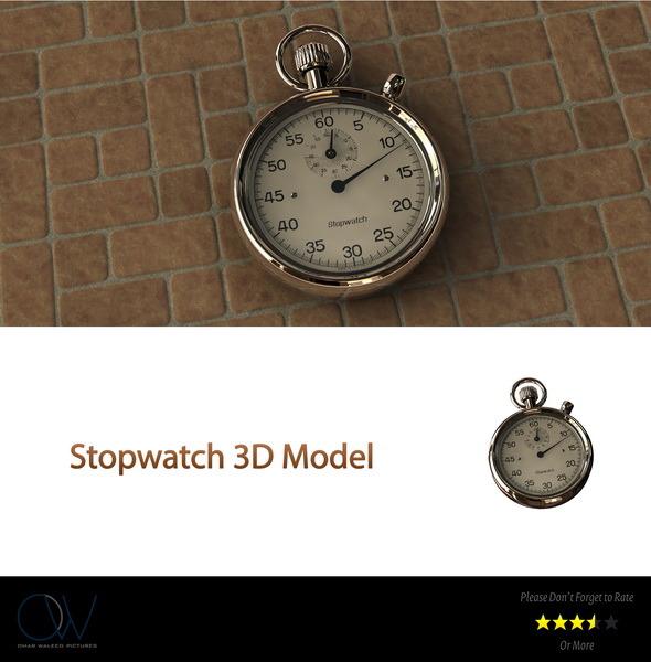 3DOcean Stopwatch 2773496
