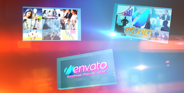 VideoHive Multi Video Corporate Presentations Logo Opener 2775415