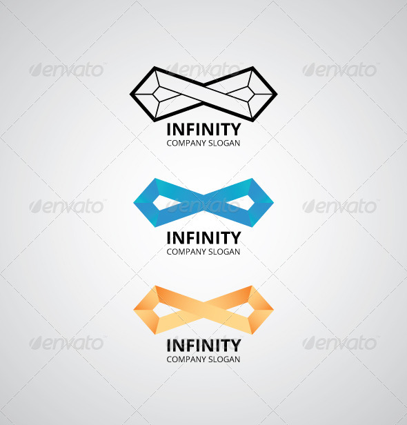 GraphicRiver Infinity Shape Logo 2768252