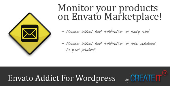 Envato Addict for WordPress - CodeCanyon Item for Sale
